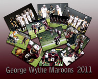 Custom Football Collages.