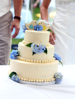 Reception -Cake-Bouquet -Garter